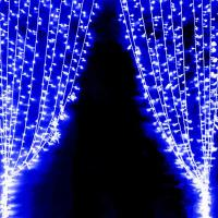 Гирлянда ICICLE LIGHT 52 Штора StringToString 144 led blue 2 м - вид товара